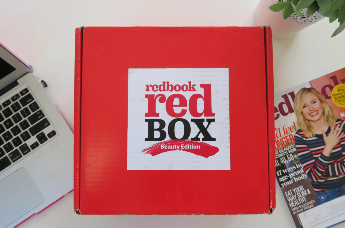 Redbook Red Beauty Box review 2017