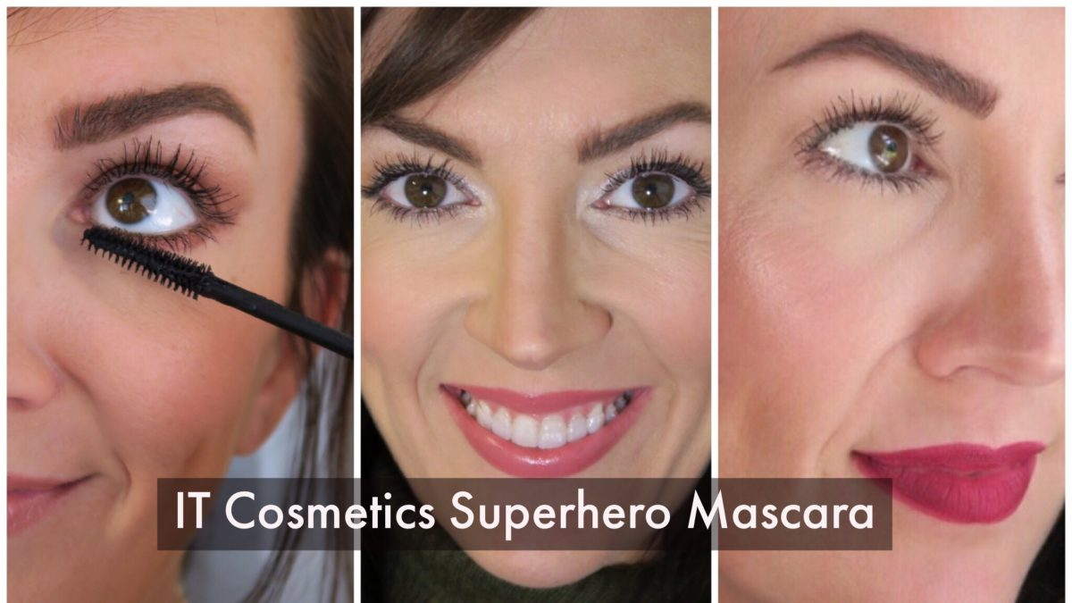 bold lashes with it cosmetics superhero mascara