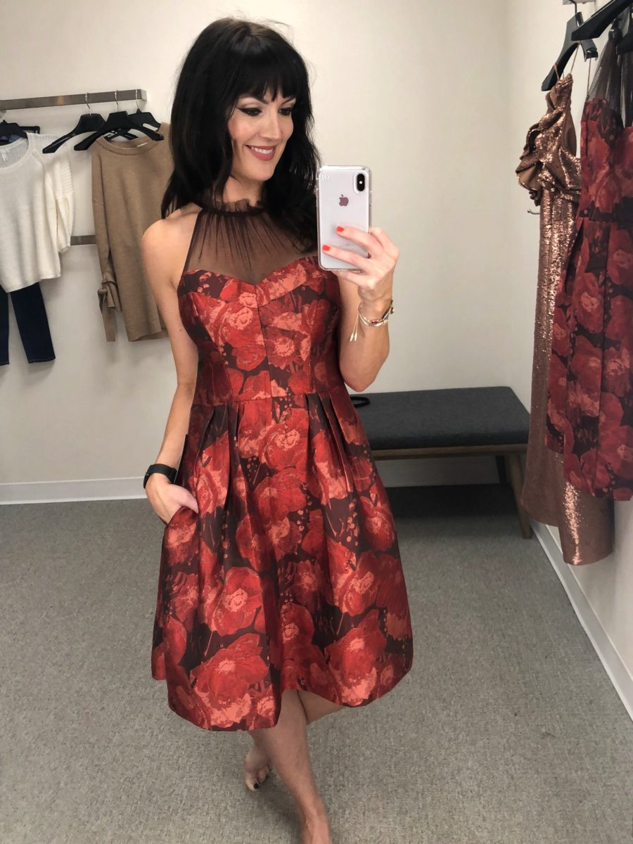 best holiday dresses with pockets nordstrom 2017
