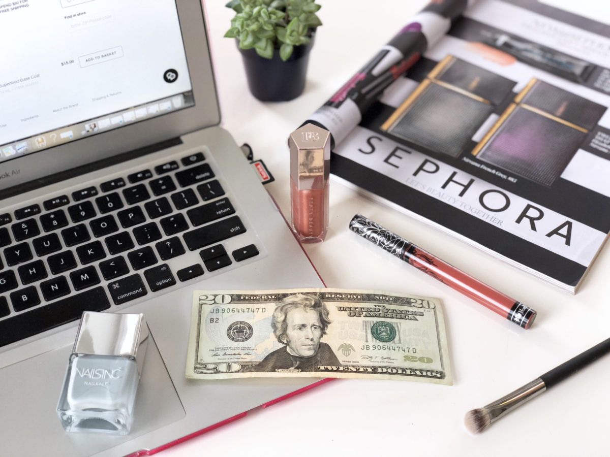 best beauty buys from sephora for under $20