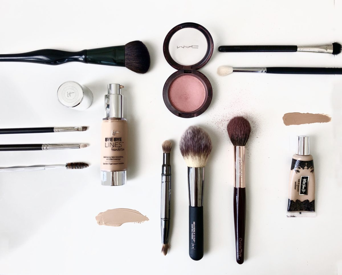 what makeup brushes you should be using