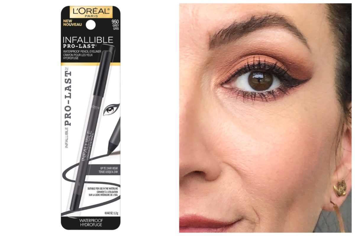waterproof makeup waterproof L'Oreal Infallible pro last eyeliner