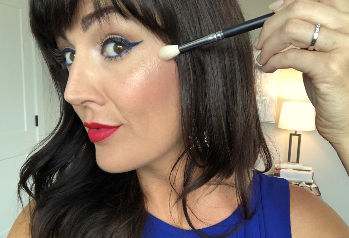 fourth of july makeup inspiration 2018 over 40 beauty blogger