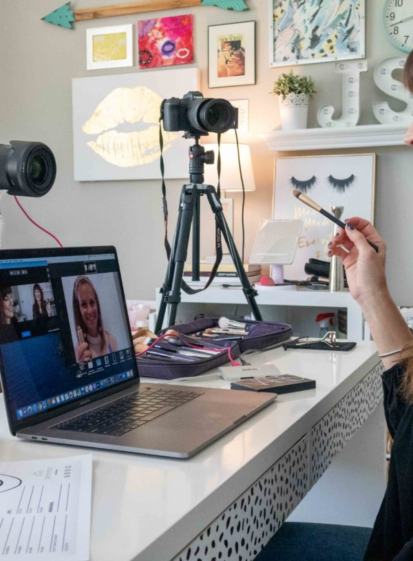 Why A Virtual Makeup Lesson Might Be Exactly What You Need Right Now
